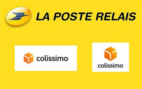 logo point relais la poste Colissimo
