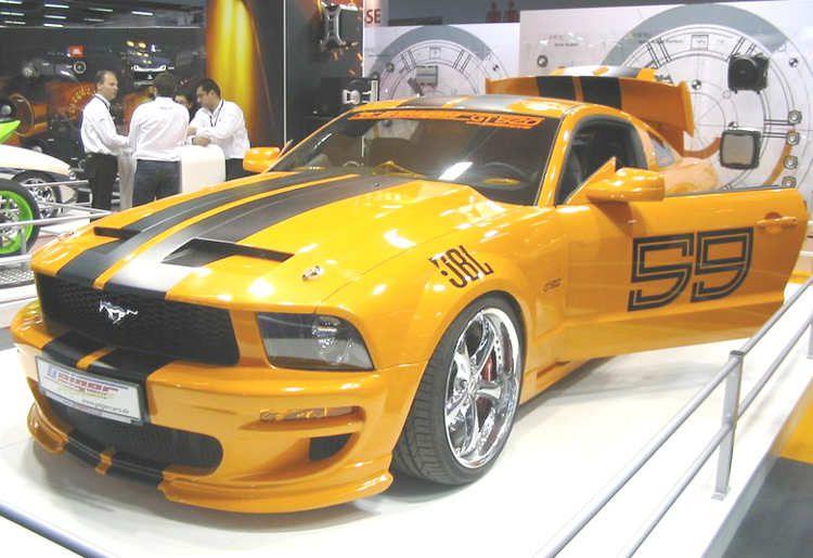 photo de voiture pour klaxon tunning